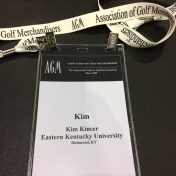 The official name badge
