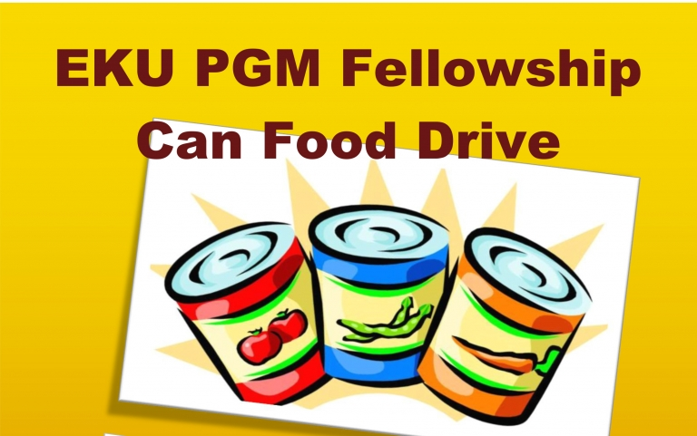 PGM food drive graphic