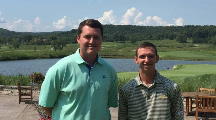 EKU golf management students on internships
