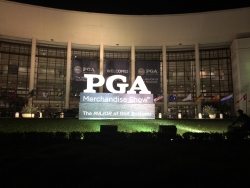 PGA Merchandise Show welcome sign