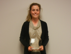 Wiedmar Selected for 2012 S.J. Garner Student Excellence Award