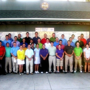 PGA Golf Management University Leadership Conference group photo