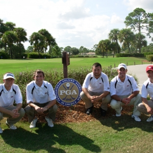 EKU PGM students at PGA of America golf course