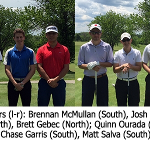 Kincer Cup golf teams