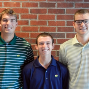 l-r: Chris Bunge, Mikal Harpster, Tyler Brightwell