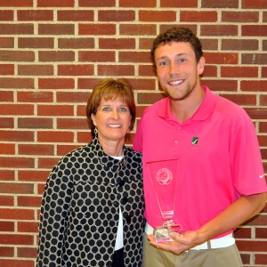 Micah Voorhis (right) with program director Kim Kincer